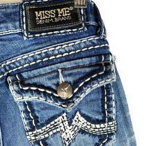 MISS ME Women Denim Brand Jeans Distressed IRENE